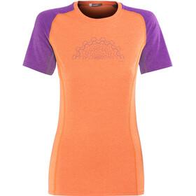 Norrøna Fjørå Equaliser Lightweight maglietta a maniche corte Donna arancione/rosa